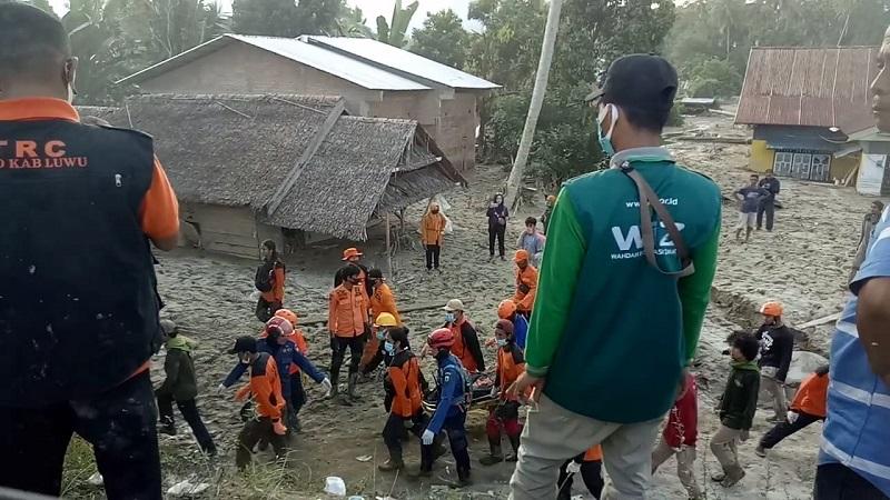 Jenazah Korban Banjir Bandang Masamba